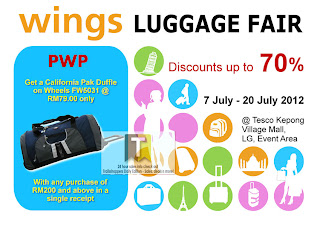 Wings Luggage Fair 2012