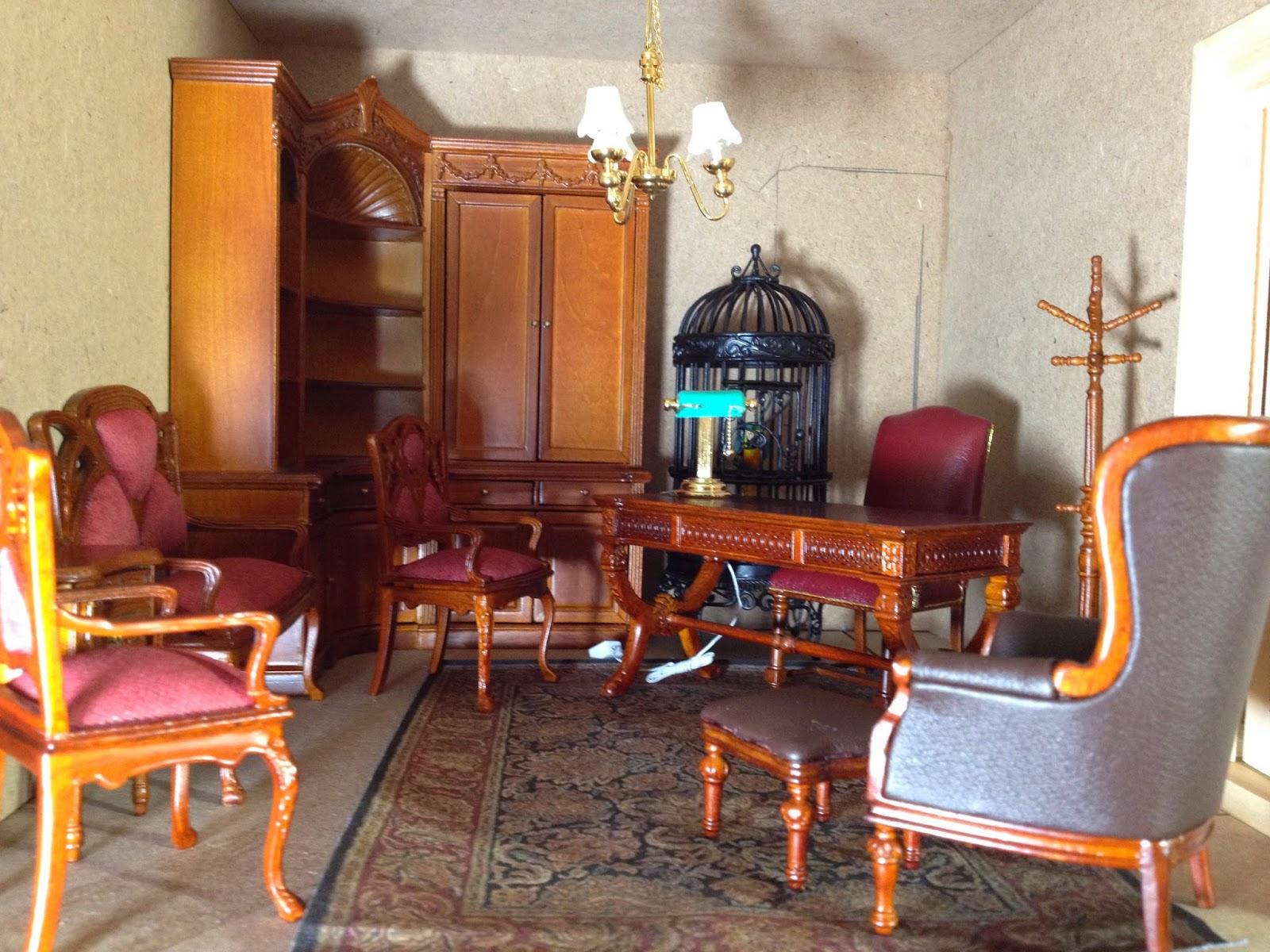 Jocelyn s Mountfield Dollhouse Furniture and Lighting