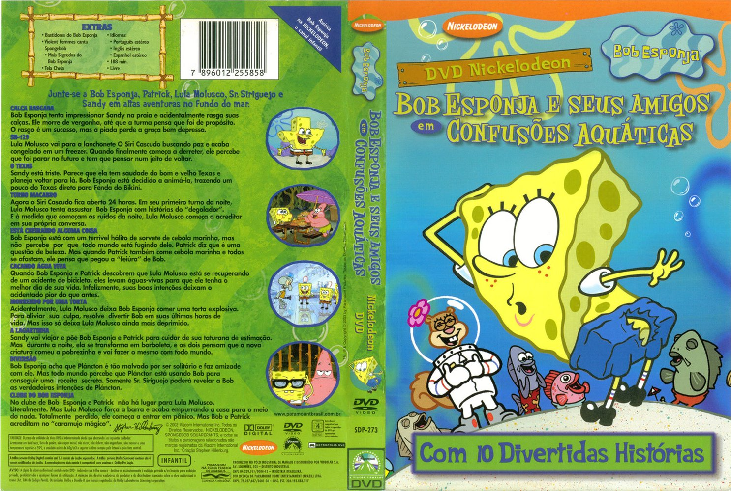 Bob Esponja La Pelicula 4En1 DVD COVER PACK. En La Actualidad No Existe  Pagina Que Sube Estos DVD Para Que Lo Descarguen Gratuitamente ( Ya Que Los  ...