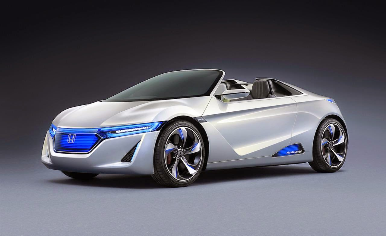 Honda Ev Ster Small Sports Car Concept Photo S X