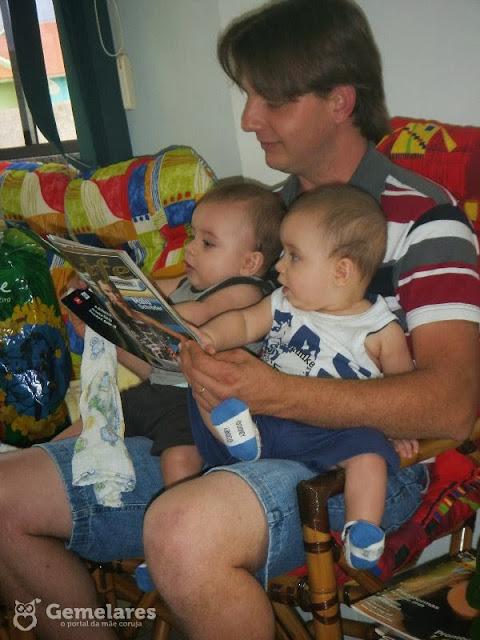 10 Dicas para o papai de gêmeos ajudar no dia a dia