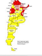 El ingreso per capita de cada provincia argentina , si fueran un país. no . ipc