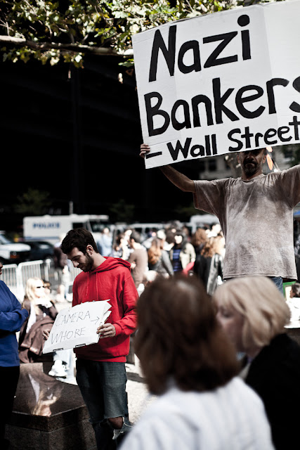 occupy wall street, wall street, financial district, owe, money, stock exchange, 2.0, nazi, bankers