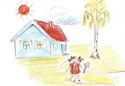 Психологический тест рисунок дома дерева человека