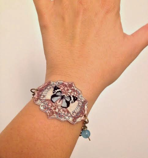 pulsera carlalluna vintage mariposa