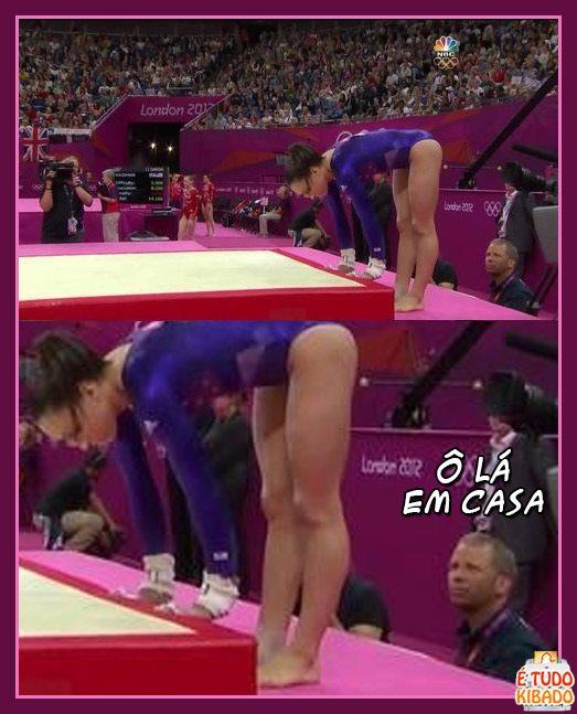 Ginastica Olímpica no Diário da Erva
