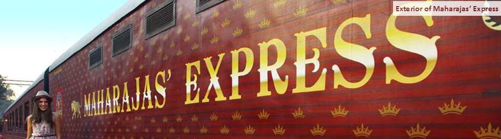 maharaja express train exterior