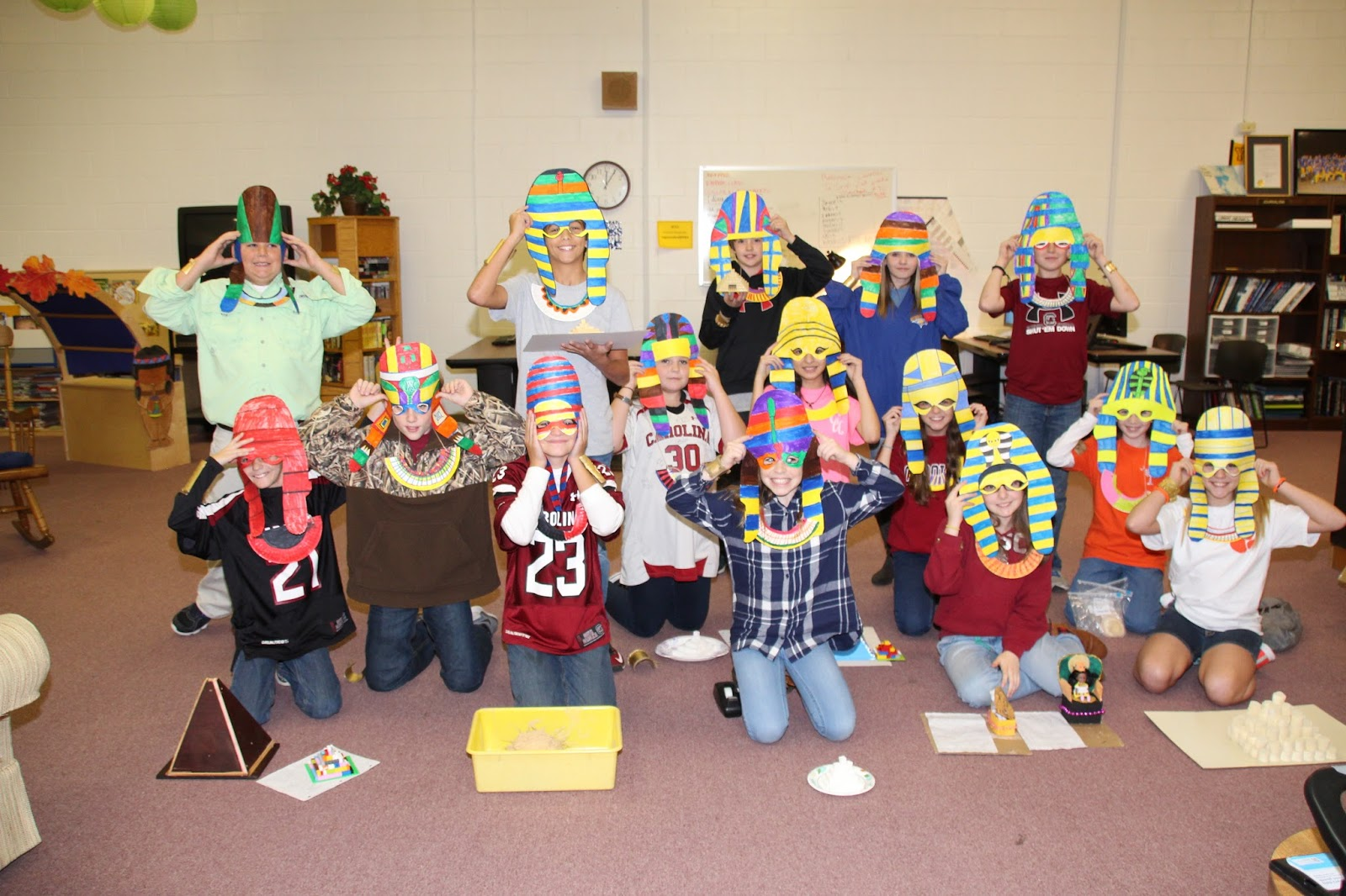 the eagle eye sixth graders experience ancient egypt