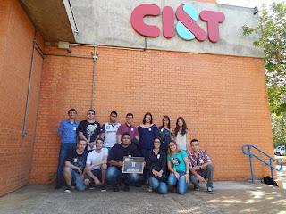 Visita à empresa CI&T Campinas/SP