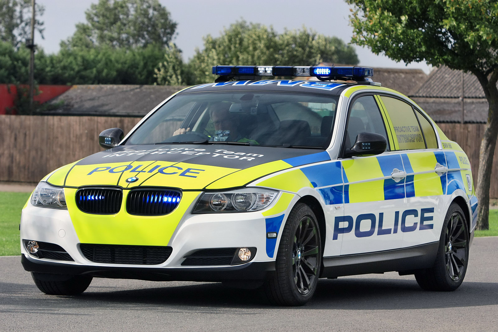 COOL IMAGES: British Police Car BMW