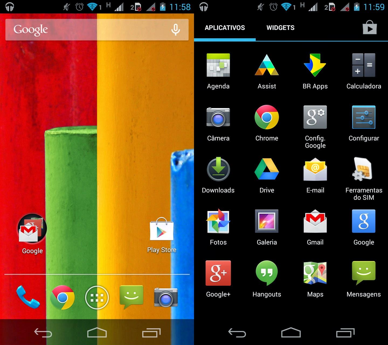 Smartphone Motorola Moto G Colors Dual XT1033 16GB Desbloqueado ...