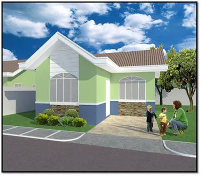 Sabina Unit Bungalow Single Detached House and Lot for Sale Marigondon Mactan Cebu 2BR