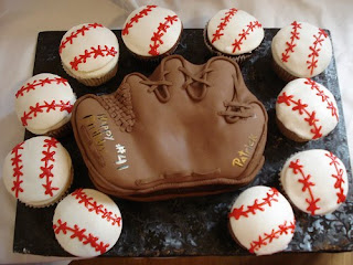 Special Baseball Cakes And Cupcakes Ideas