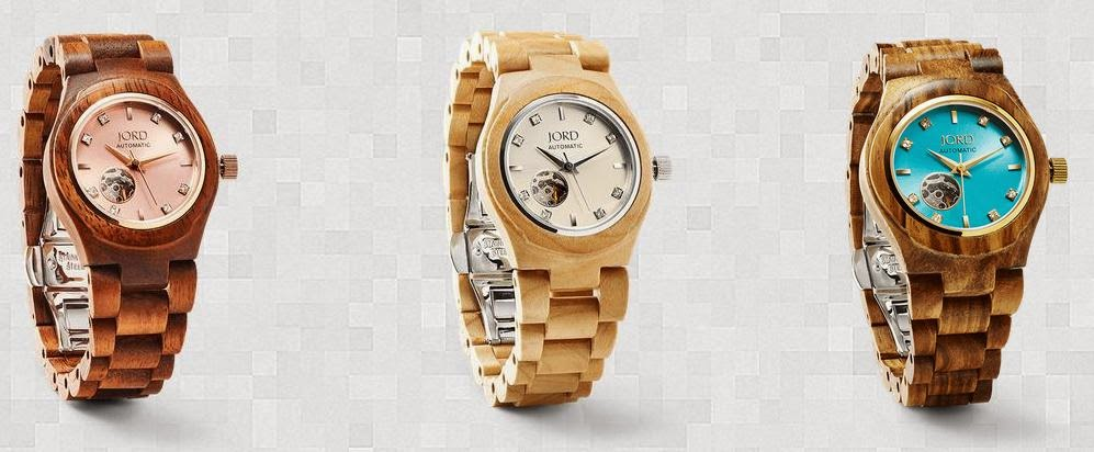 rreloj de madera Jord #jordwatch women´s watches wood watches wooden watches blog Mi Boda gratis lifestyle regalo original