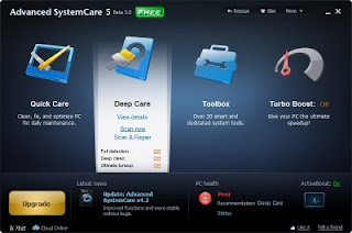 Download Advanced SystemCare Pro 4 + License Key