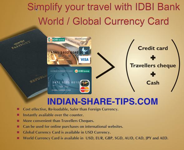 Forex card idbi bank