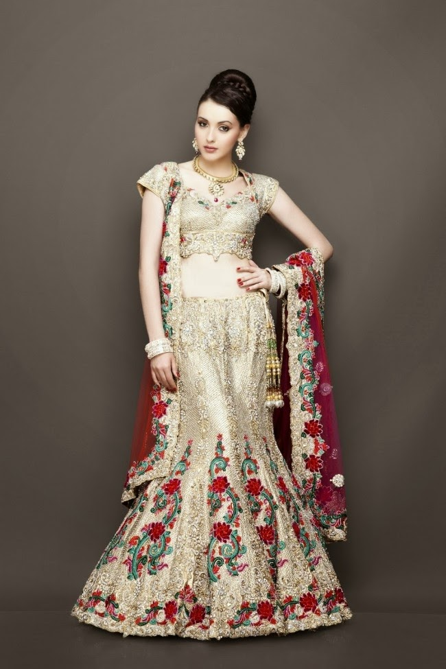 Wedding Dress Patterns Pakistani Dresses 2014 For Girls Pictures Photos
