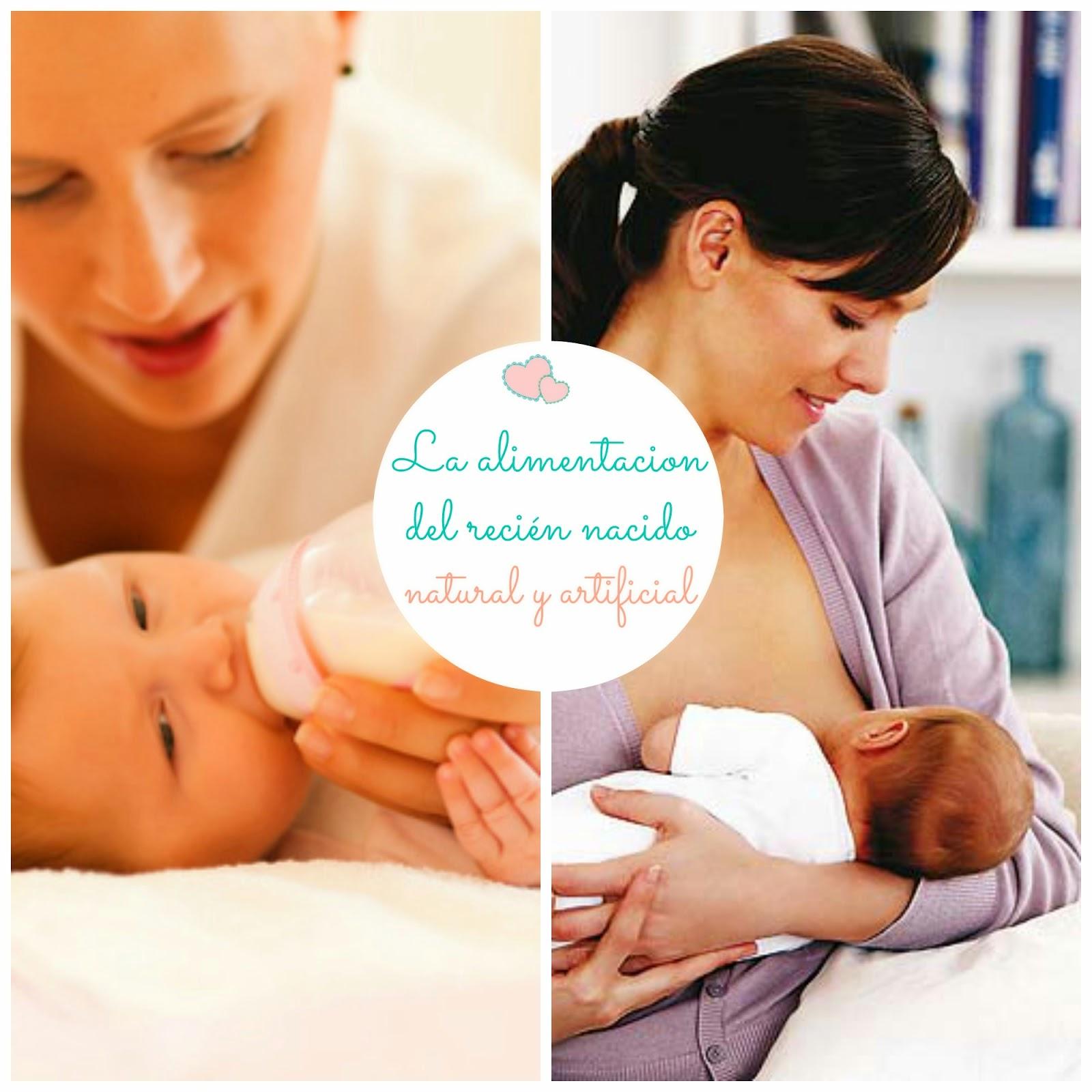 la alimentación del recién nacido - lactancia materna vs alimentación artifical blog infantil mama de noa