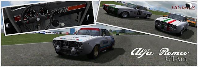 Alfa Romeo rfactor F1 mod Histotic & touring Cars