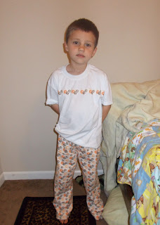 Boys Pajamas Set With