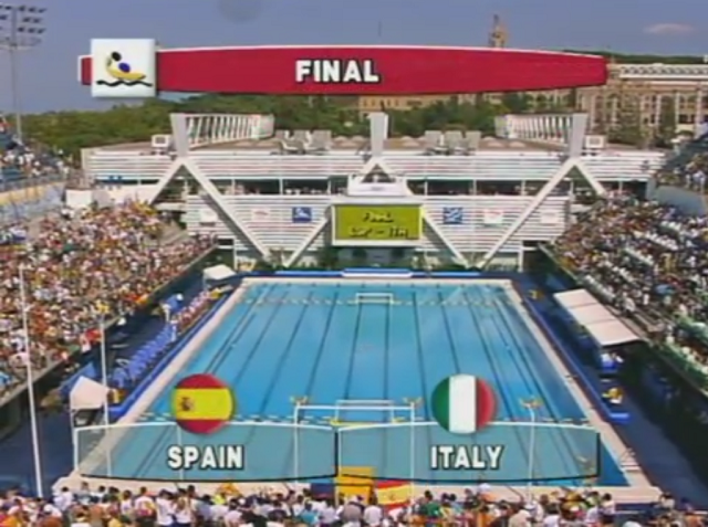 pallanuoto, finale olimpica del 1992 tra Italia e Spagna