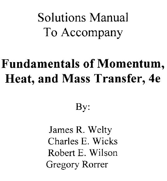 solucionario transferencia de calor y masa cengel edicion rapidshare