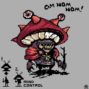 mushroom monster