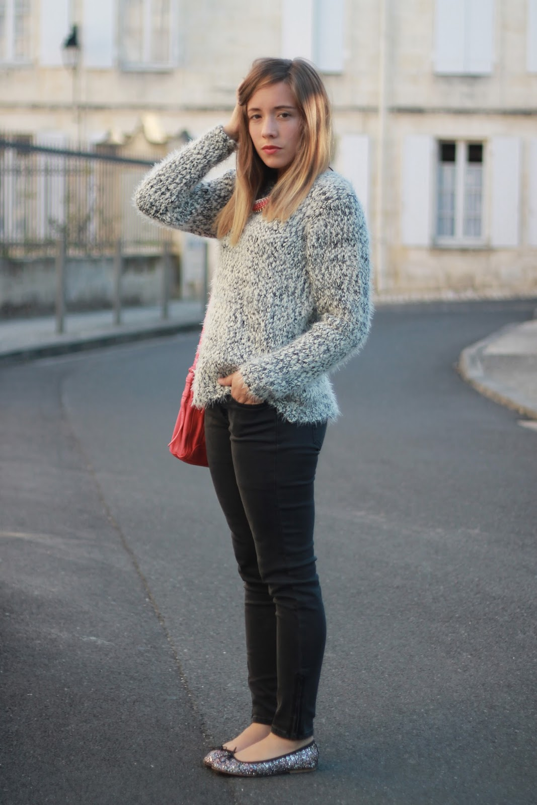 Pull confortable chaud hiver