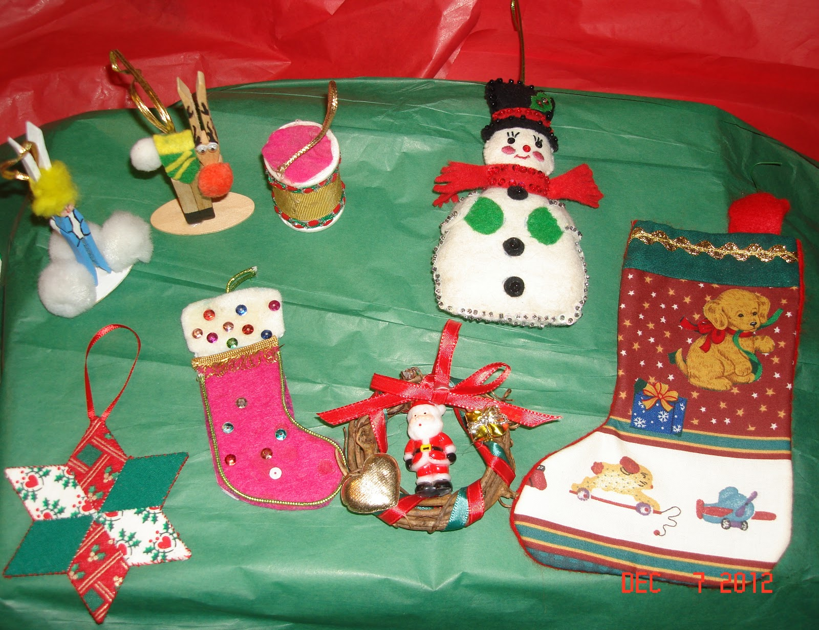 Marthawrites christmas crafts for young and old for Christmas crafts for young children