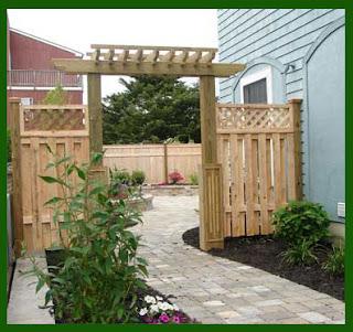 Wooden Fence Designs Offer a Rustic Look  Design Blog