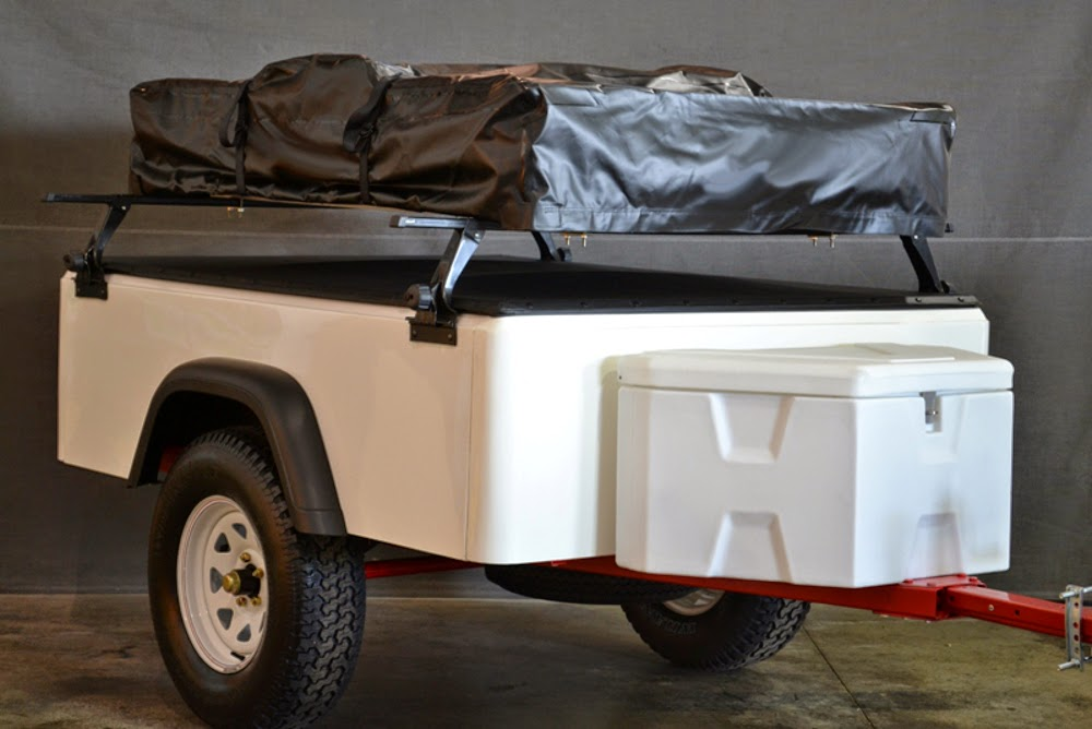 Jeep Trailer Fiberglass Tub Kit