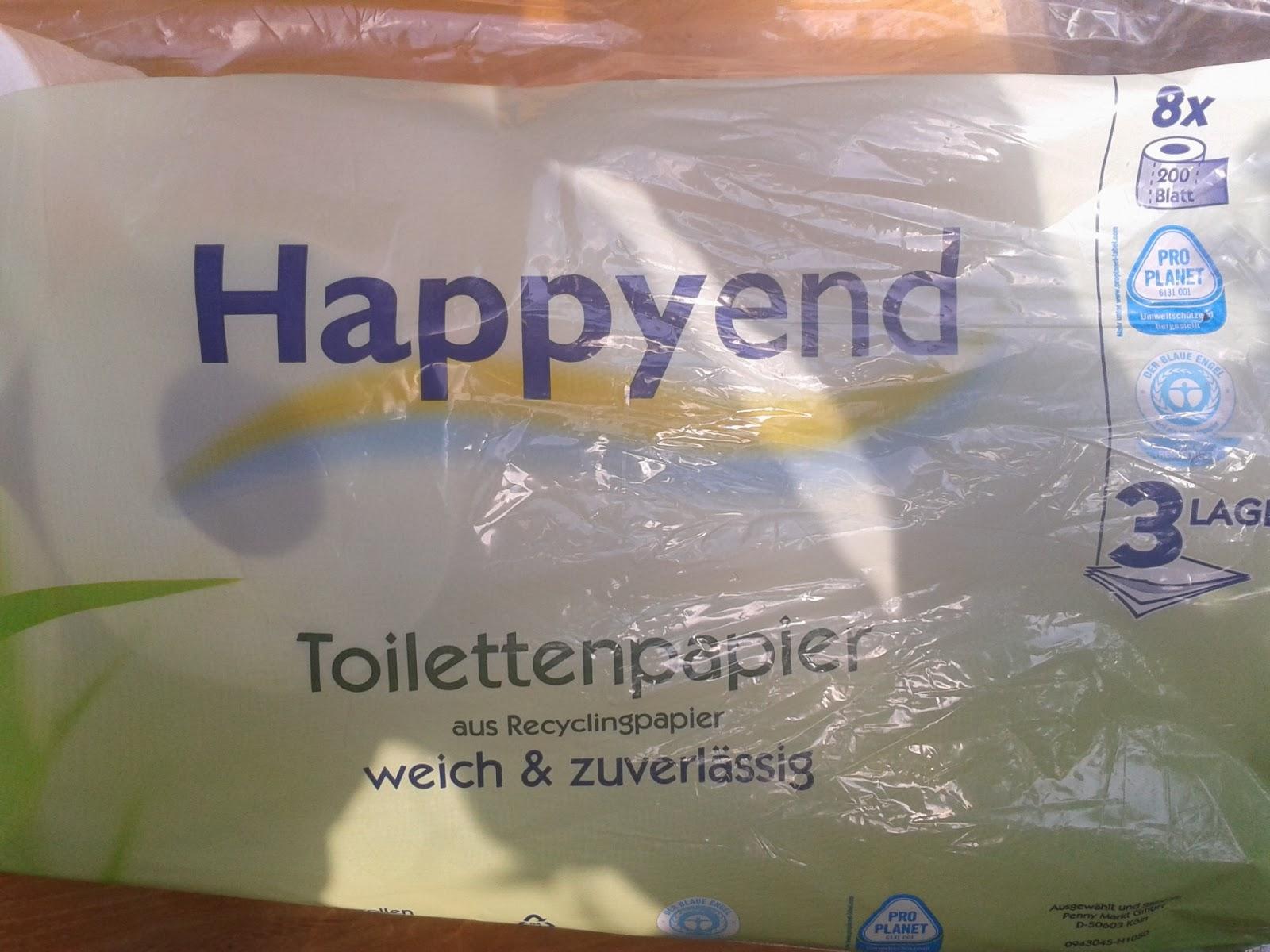 Happyend Toilettenpapier
