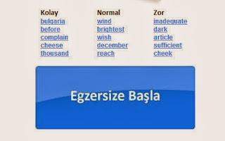 Yabancı dil sınayıp, doğru kelimelerin anlamlarının doğru bilip bilmediğinizi test etmek isterseniz