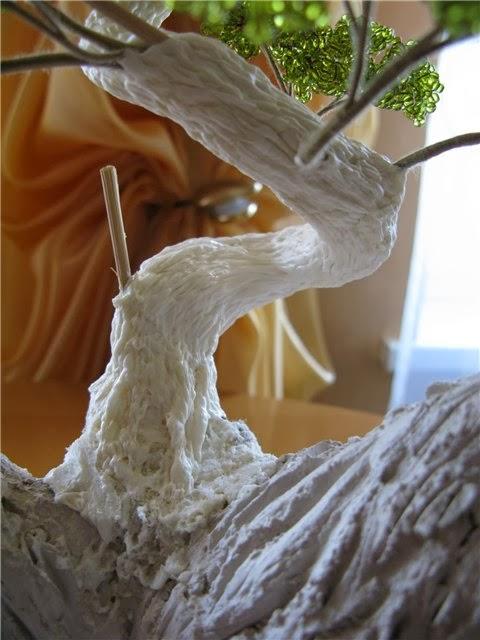 Дерево из монтажной пены своими руками