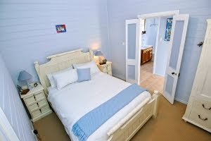 blue bedroom Beach House Decoration