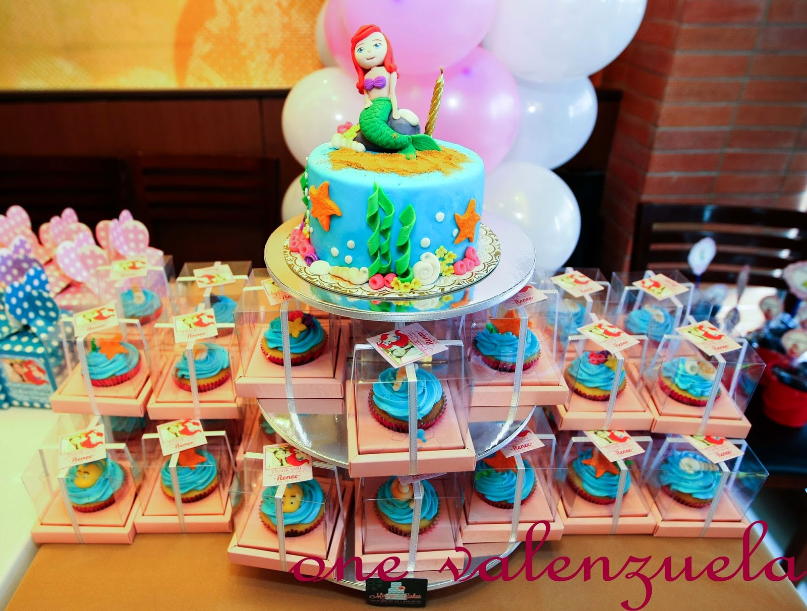 On Little One Valenzuelas Birthday Cake Cookies and Sweets Part