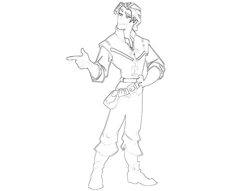 Pin Flynn-rider-colouring-pages on Pinterest