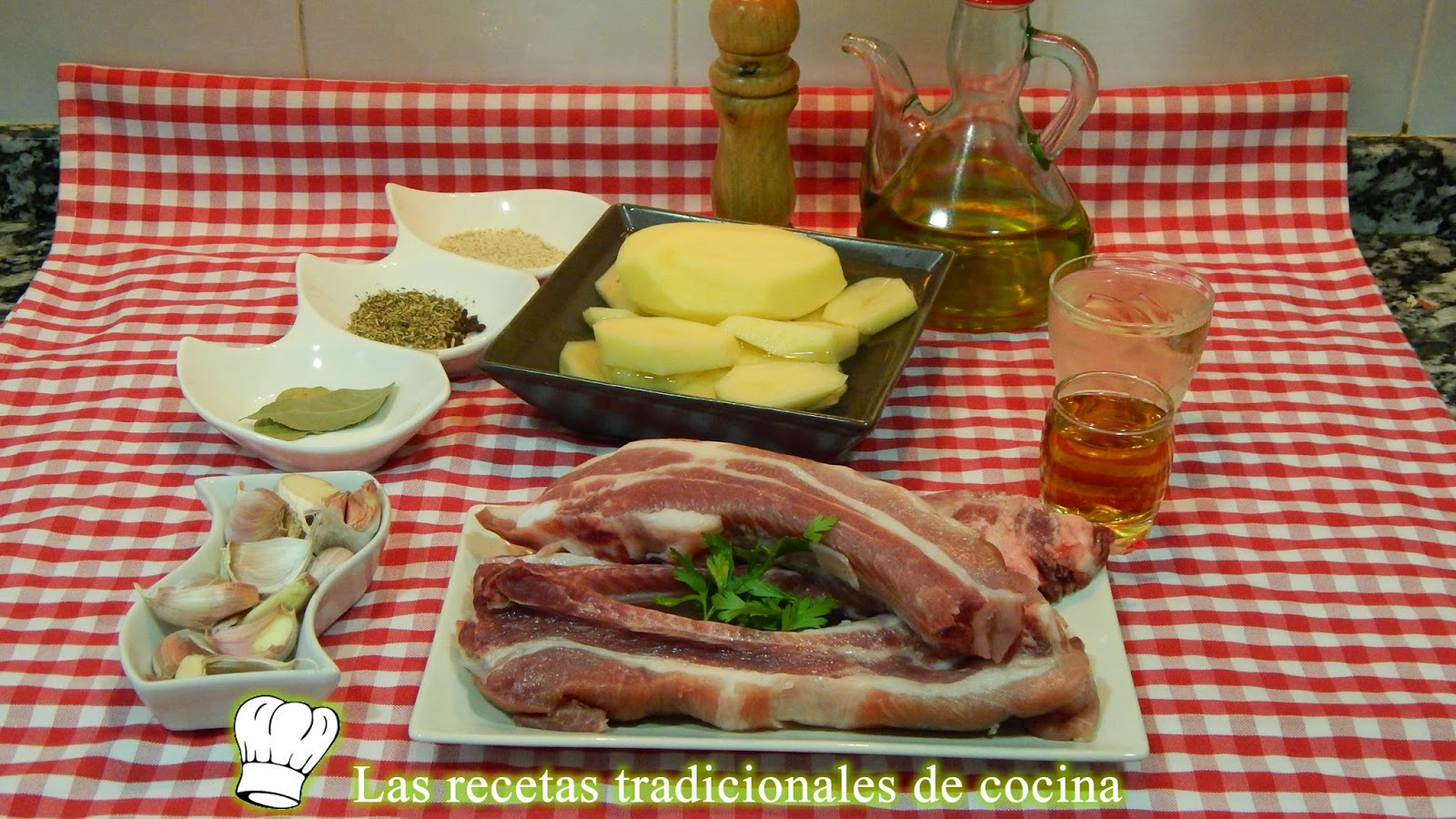 Receta de costillas de cerdo al horno