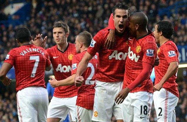 Hasil Pertandingan Chelsea vs Manchester United (MU) 28 Okt 2012