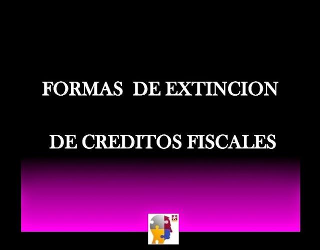 Prescripción de créditos fiscales