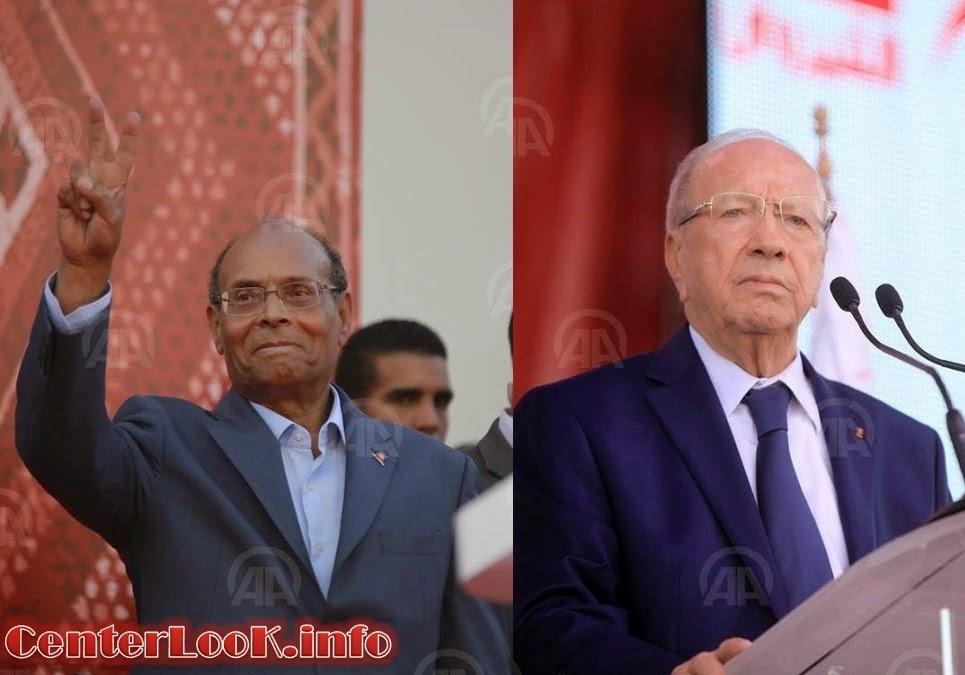 نتيجة انتخابات الرئاسة التونسية : السبسي والمرزوقي الي جولة الاعادة