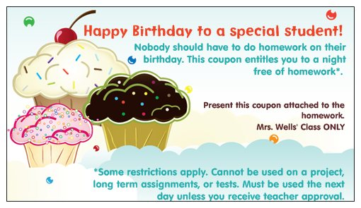 Birthday cards for students choice image birthday cake decoration birthday cards for students images birthday cake decoration ideas confessions of a 3rd grade teacher confessions bookmarktalkfo Choice Image