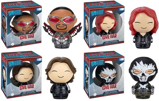 Learn How To Draw Falcon From Captain America Civil War: The Blot Says...: Captain America: Civil War Dorbz Vinyl