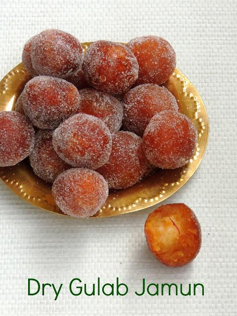 Dry gulab jamun, Dry Jamoon