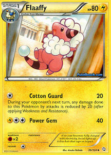 Flaaffy Dragons Exalted Pokemon Card
