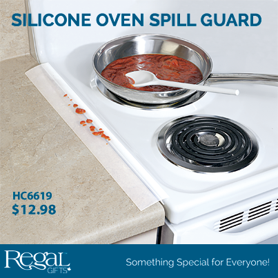 Oven Countertop Gap Guard : Regal Gifts Corporation: SILICONE OVEN SPILL GUARD from Regal Gifts