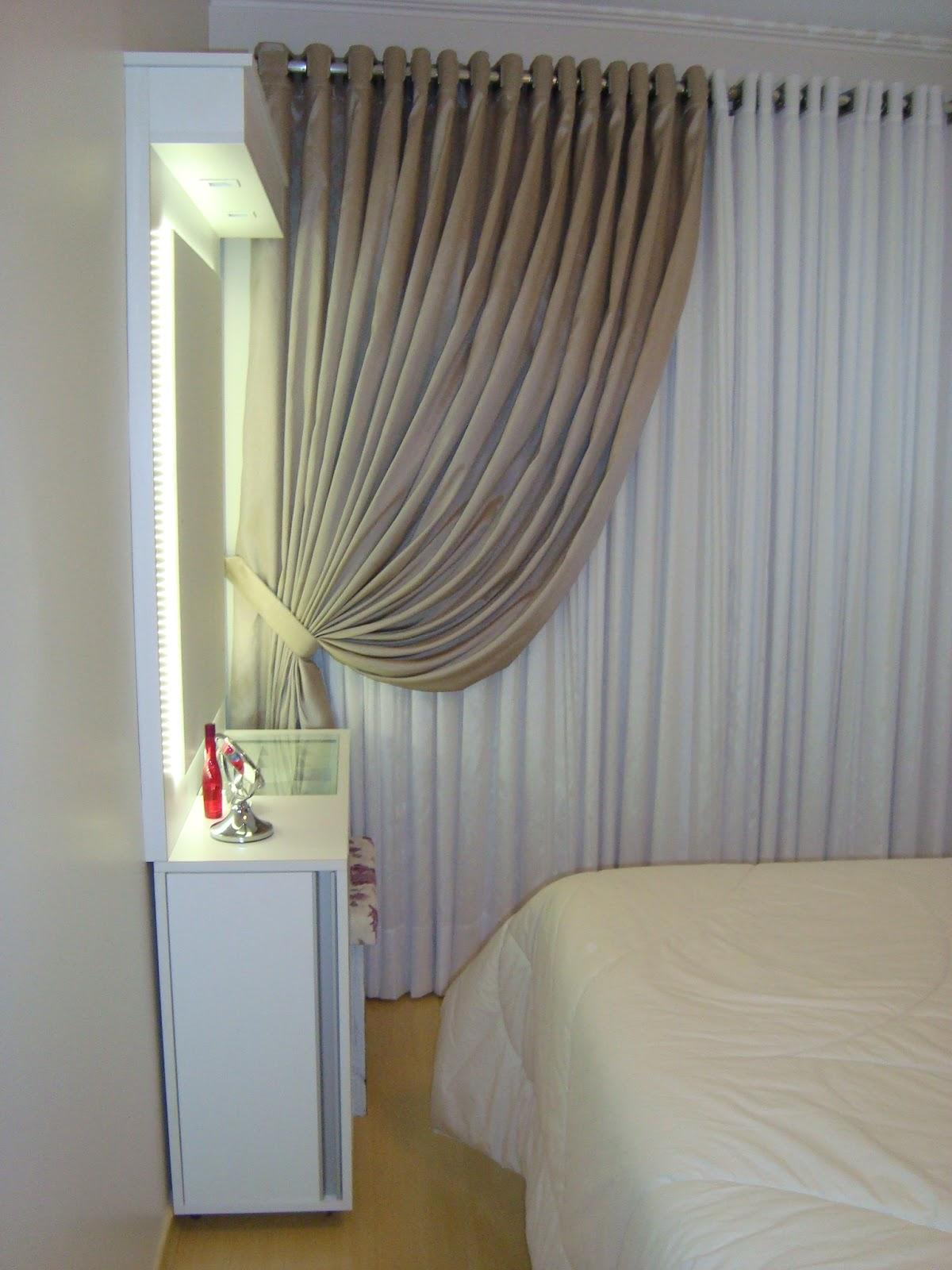 Patrícia Zottis Projeto e decoração  quarto de casal