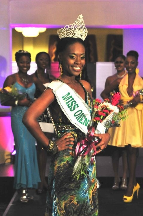 melanie george sharpe,miss earth trinidad & tobago 2011