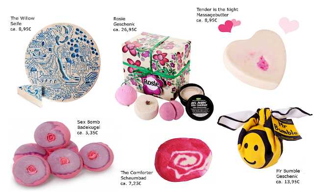 Preview Lush Valentinstags Geschenkesets - limited Edition (LE) - Januar 2013