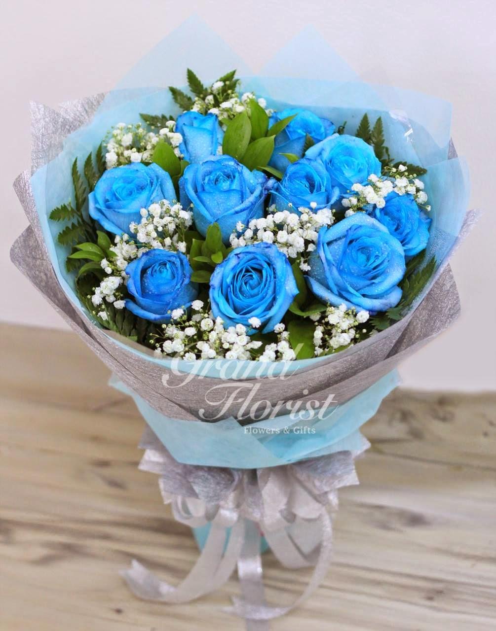 Hand Bouquet Bunga untuk Kado Ulang Tahun Romantis